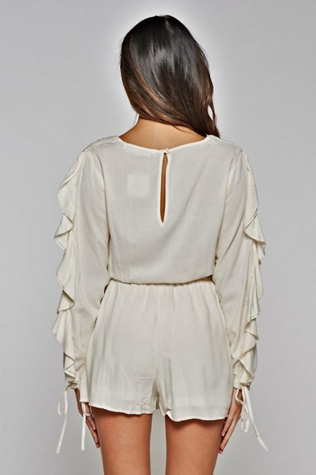 People Outfitter Azalia Romper - Front Full Image
