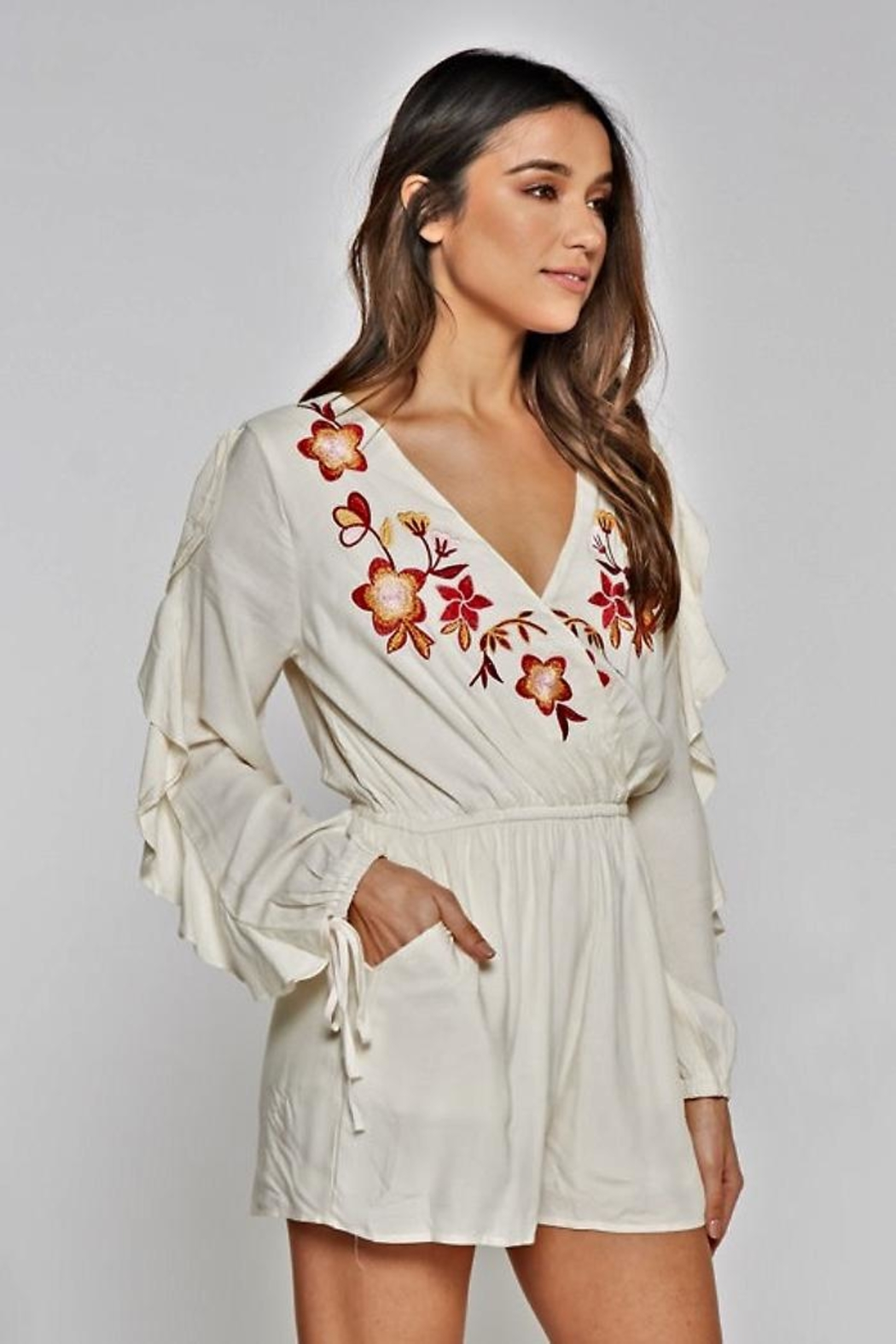 People Outfitter Azalia Romper - Side Cropped Image