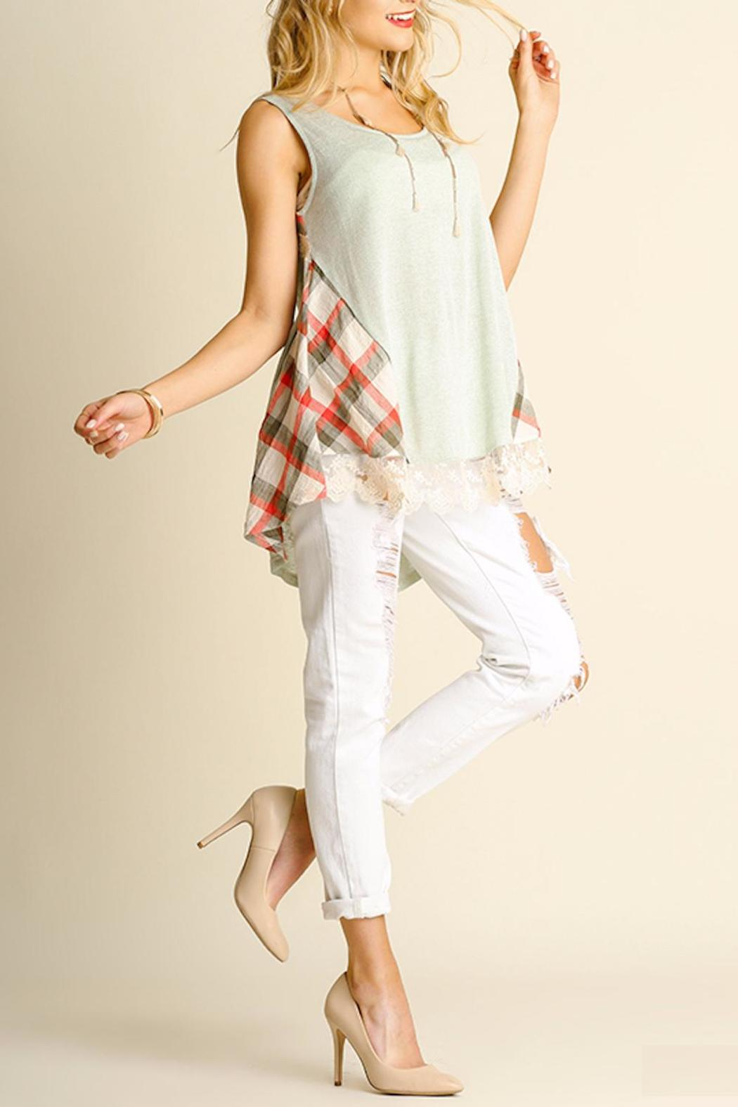 People Outfitter Beautiful Isabella Tank Top - Side Cropped Image