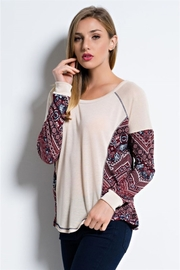 People Outfitter Beige Lightweight Knit - Product Mini Image