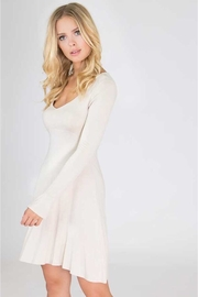 People Outfitter Beige Long-Sleeves Dress - Product Mini Image