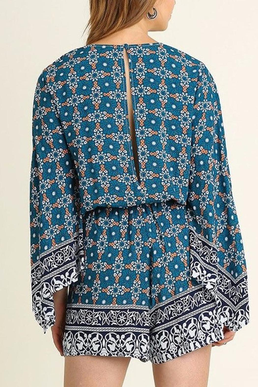 People Outfitter Bell Sleeve Romper - Side Cropped Image