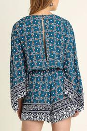 People Outfitter Bell Sleeve Romper - Side cropped