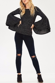 People Outfitter Bell Sleeve Sweater - Side cropped