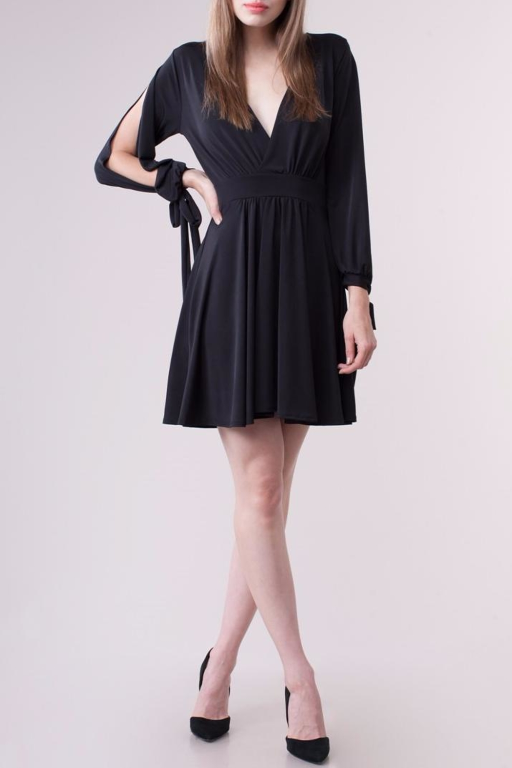 People Outfitter Bennett Black Dress - Main Image
