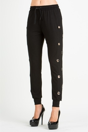 People Outfitter Black Joggers - Product Mini Image