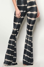 People Outfitter Black Tie-Dyed Pants - Product Mini Image