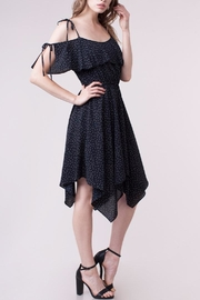 People Outfitter Blanche Ruffle Dress - Front cropped