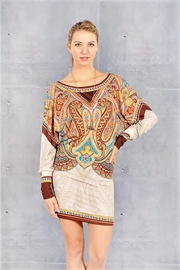 People Outfitter Boho Dolman Sleeves Dress - Product Mini Image