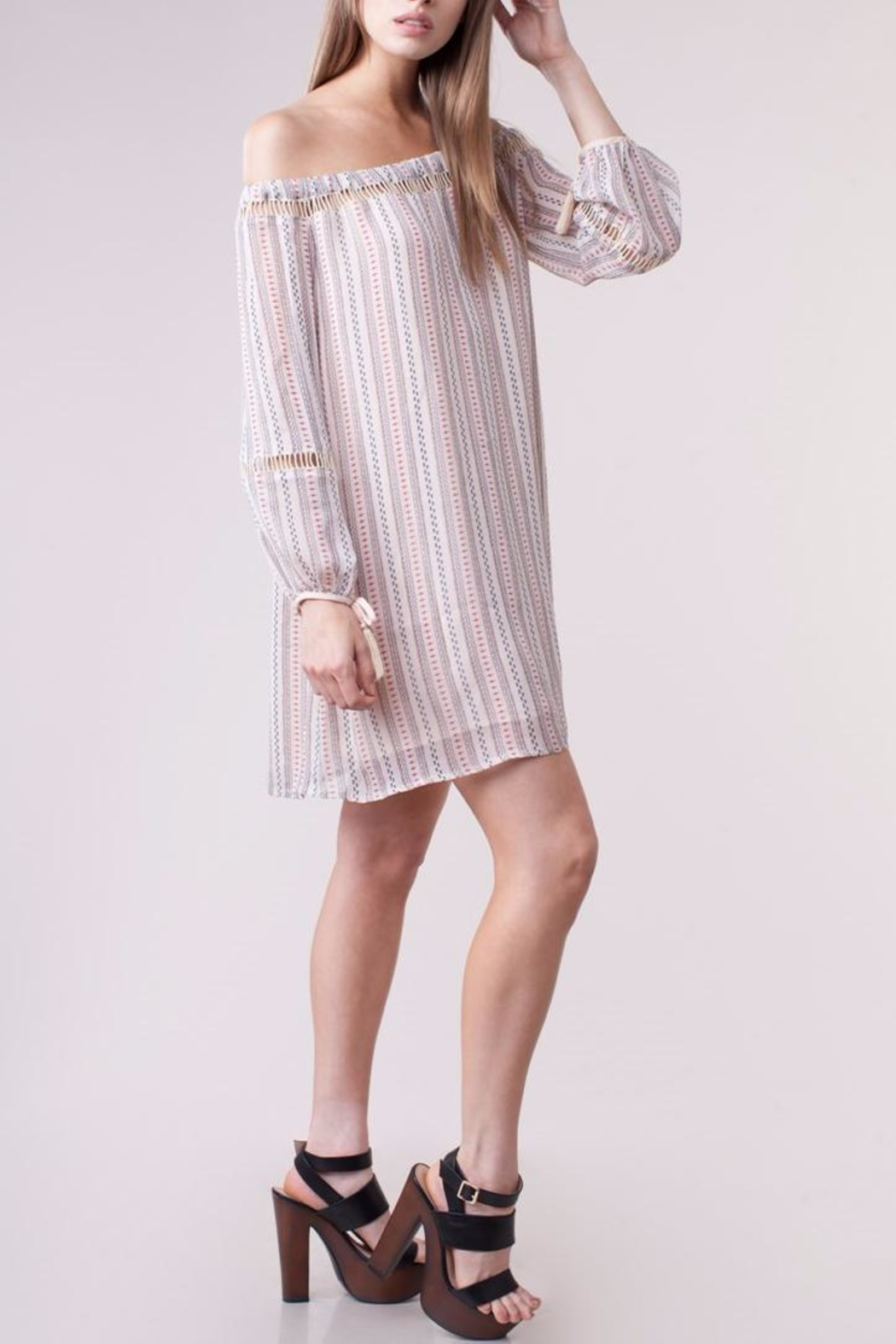 People Outfitter Branford Dress - Front Full Image