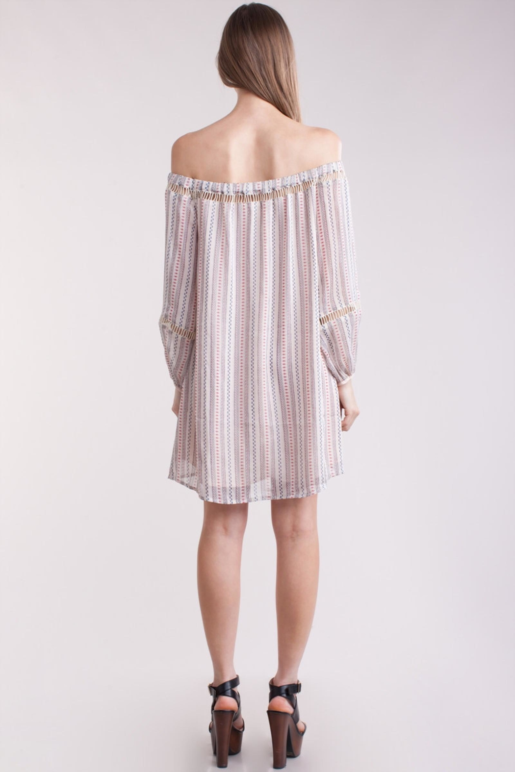 People Outfitter Striped  Dress - Front Full Image