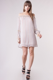 People Outfitter Striped  Dress - Product Mini Image