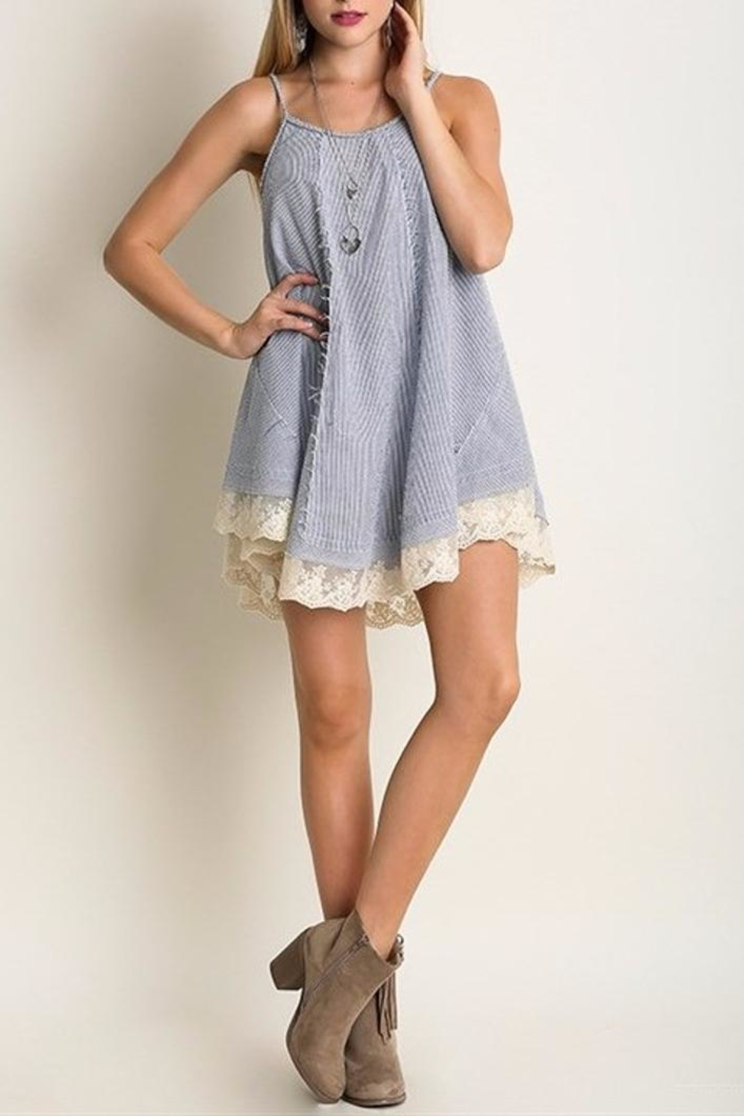 People Outfitter Brigitte Tunic Top - Main Image
