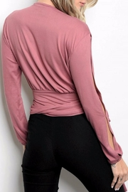 People Outfitter Broadway Wrap Top - Front full body