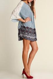 People Outfitter Camilla Blue Dress - Front cropped