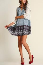 People Outfitter Camilla Blue Dress - Side cropped