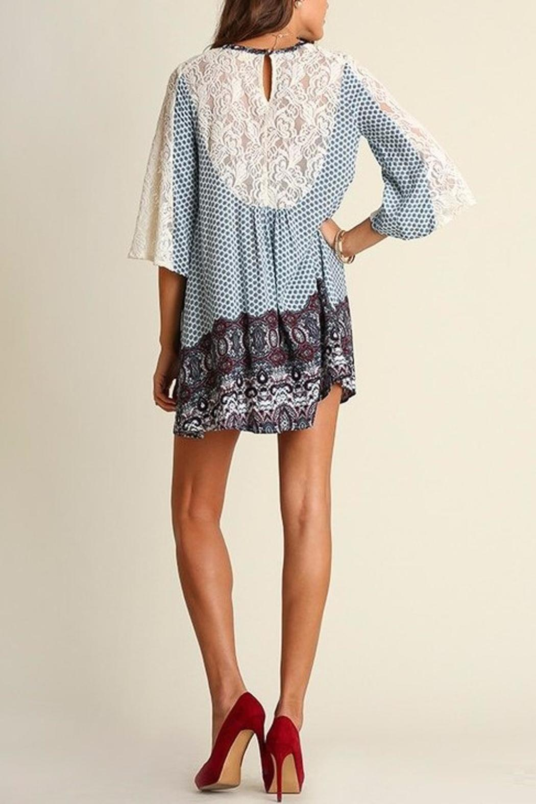 People Outfitter Camilla Blue Dress - Front Full Image