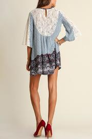 People Outfitter Camilla Blue Dress - Front full body