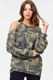 People Outfitter Camo Stay Pullover - Product Mini Image