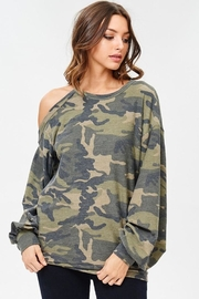 People Outfitter Camo Stay Pullover - Side cropped