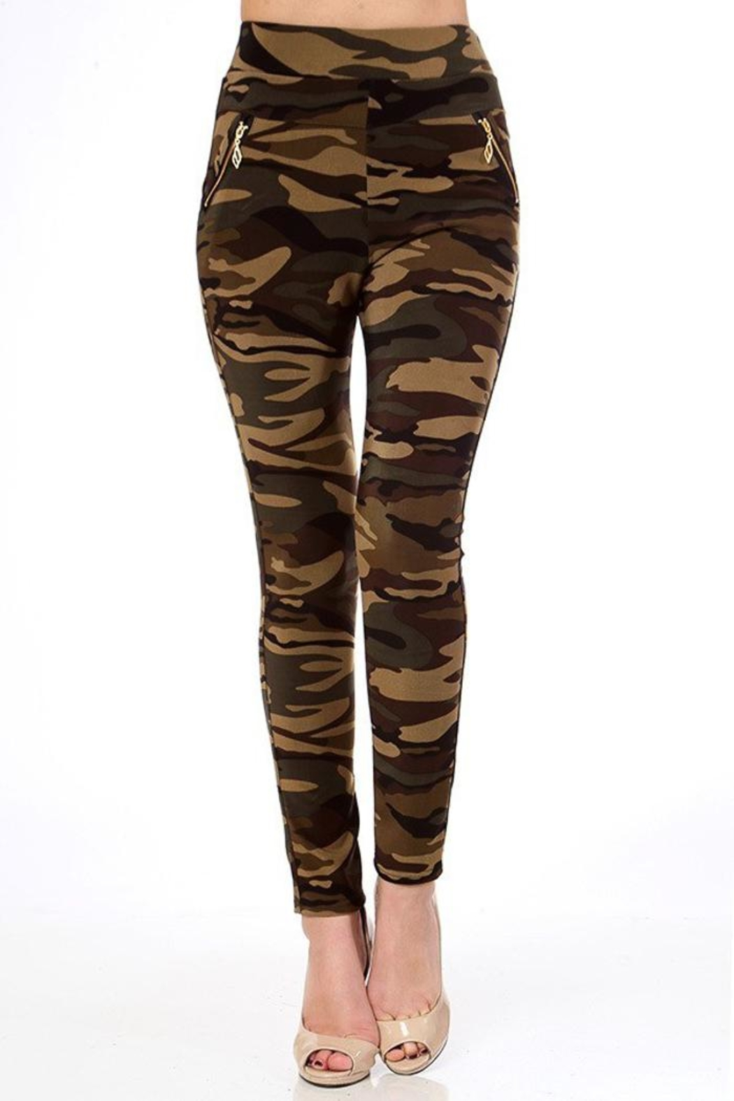 People Outfitter Camo Leggings - Main Image