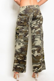 People Outfitter Camouflage Cargo Pants - Front full body