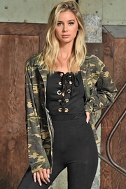 People Outfitter Camouflage Cotton Jacket - Product Mini Image