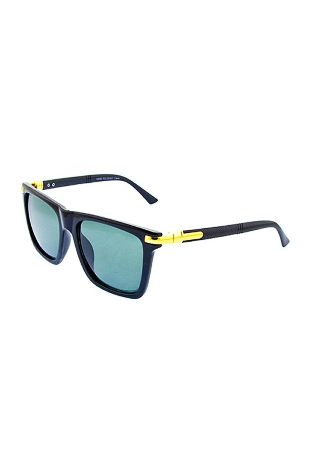People Outfitter Charlie Wayfarer Sunnies - Front Cropped Image