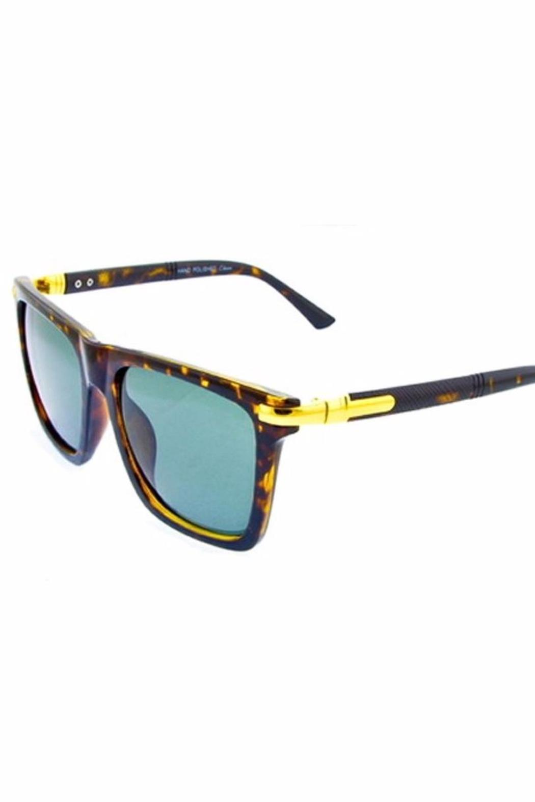 People Outfitter Charlie Wayfarer Sunnies - Side Cropped Image