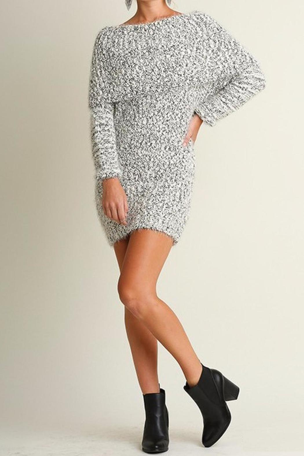 People Outfitter Chunky Knit Dress - Main Image
