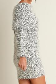 People Outfitter Chunky Knit Dress - Front full body