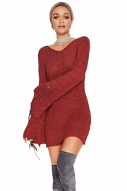 People Outfitter Claudia's Tunic Dress - Back cropped