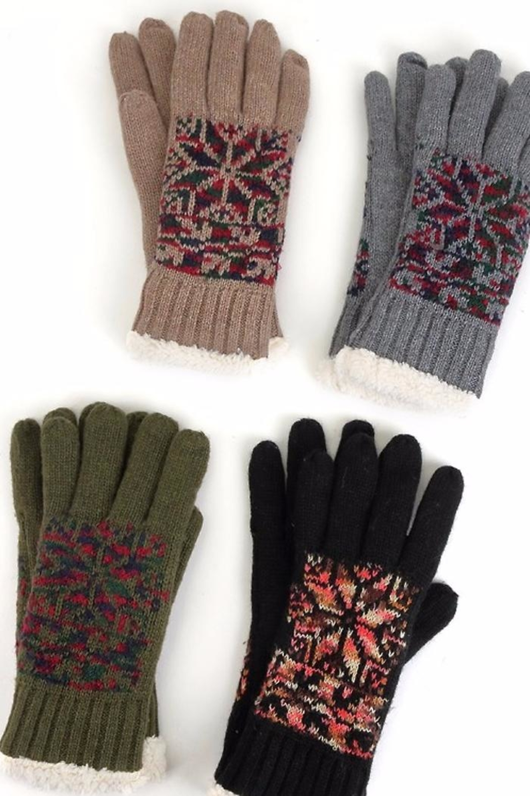 People Outfitter Convince Not Gloves - Front Full Image