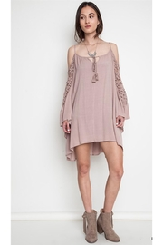 People Outfitter Cover-Up Crochet Dress - Product Mini Image