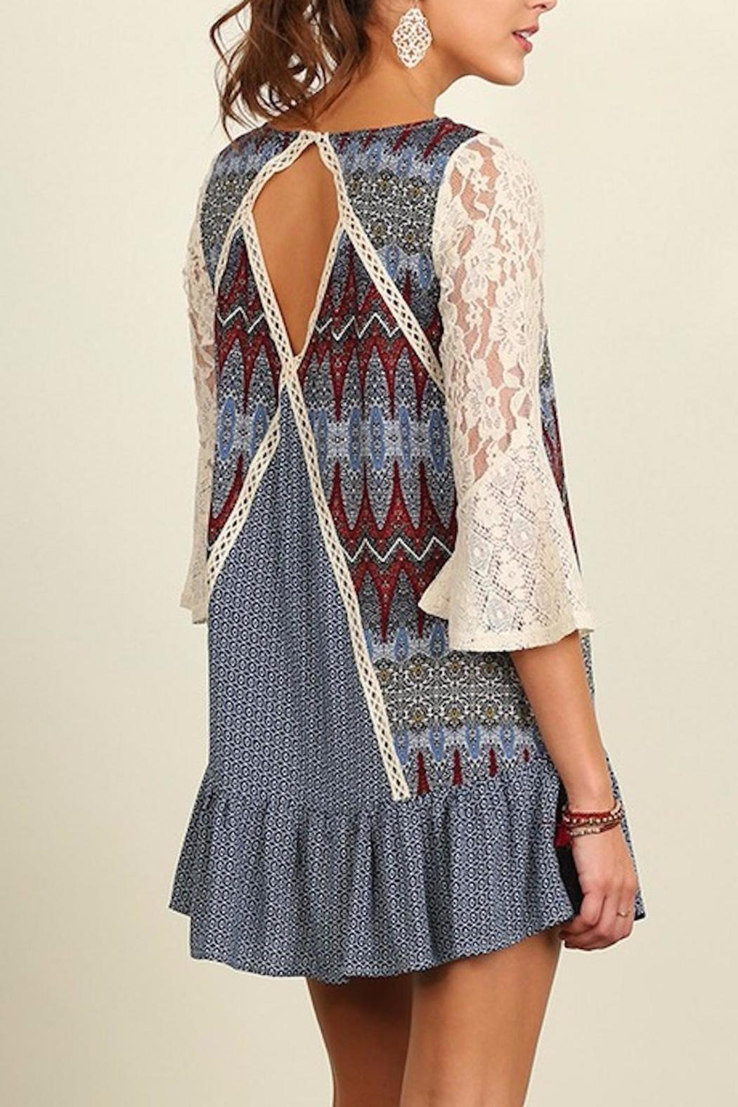 People Outfitter Crochet Patch Dress - Side Cropped Image