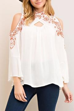 Shoptiques Product: Crossfire Top Ivory