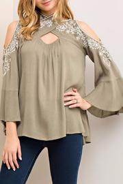 Shoptiques Product: Crossfire Top Olive