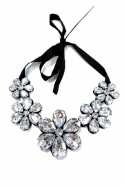 People Outfitter Crystal Flower Neck - Product Mini Image