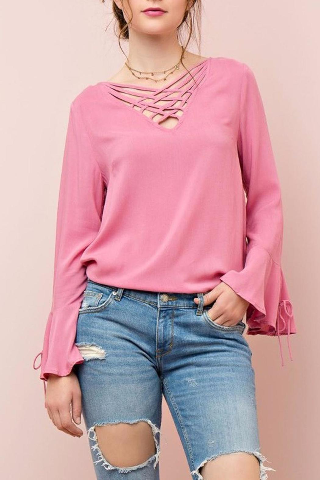 People Outfitter Cut Out Top - Front Cropped Image