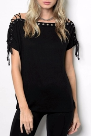 People Outfitter Dames Black Top - Product Mini Image