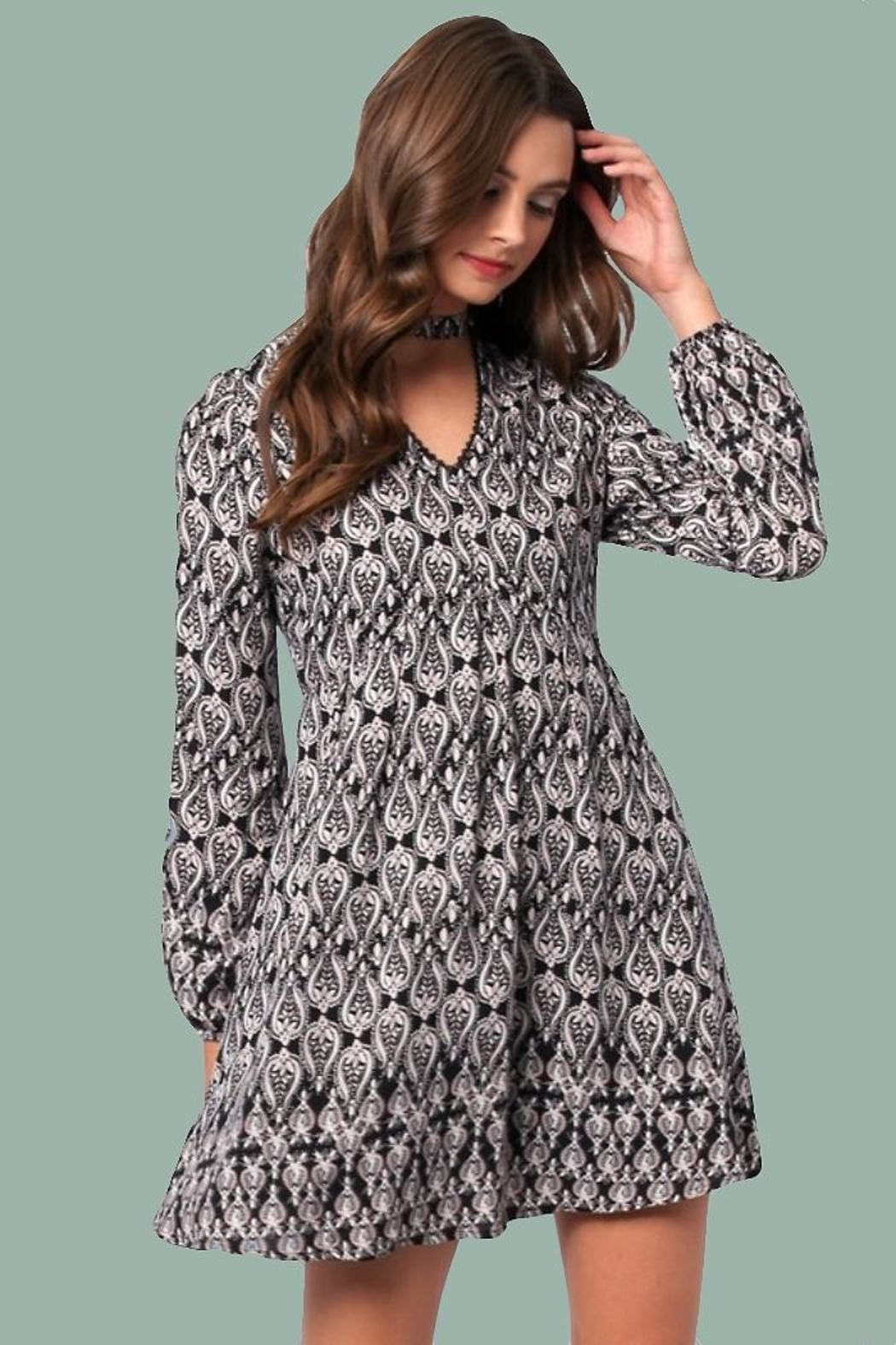 People Outfitter Daniella Mini Dress - Side Cropped Image