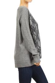 People Outfitter Departures Sweater - Back cropped
