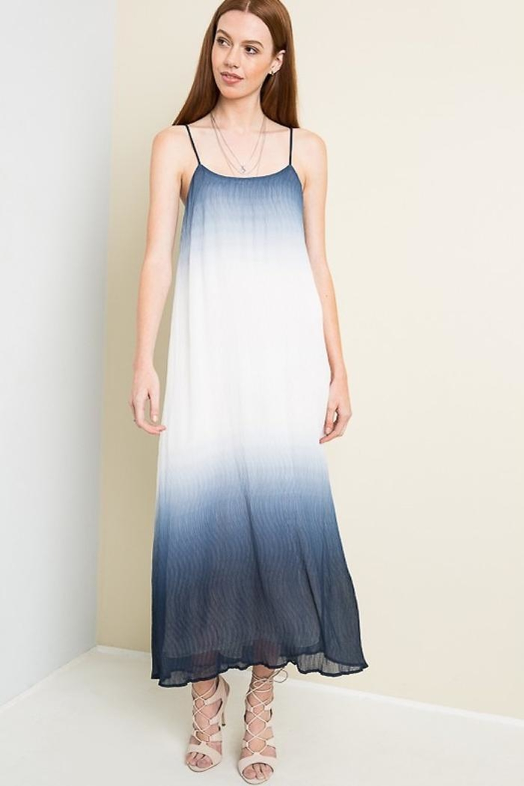 People Outfitter Dip Die Maxi-Dress - Main Image
