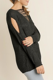 People Outfitter Distressed Knit Sweater - Front full body