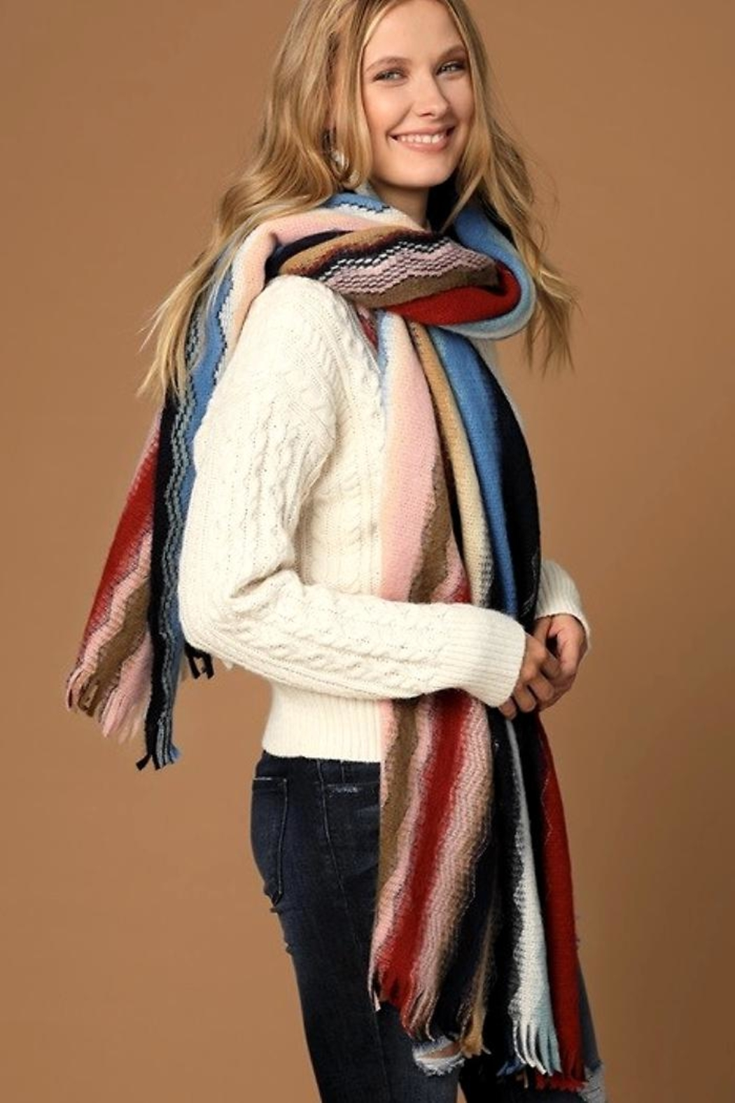 People Outfitter Dreams'n Wishes Scarf - Front Full Image
