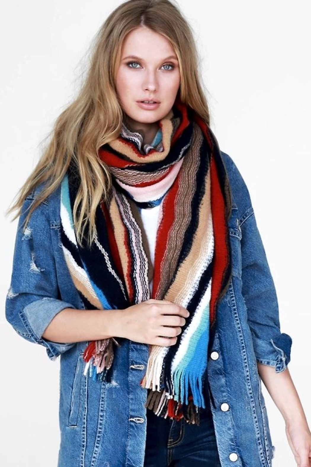 People Outfitter Dreams'n Wishes Scarf - Back Cropped Image