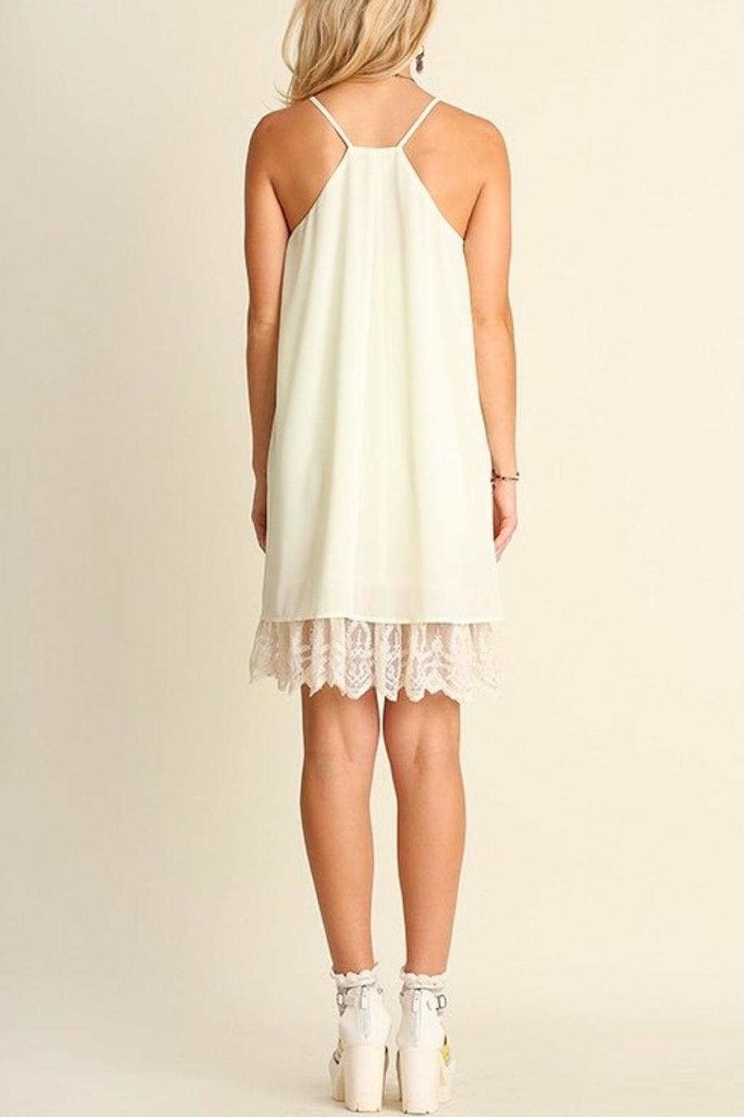 People Outfitter Ella Lace Dress - Front Full Image