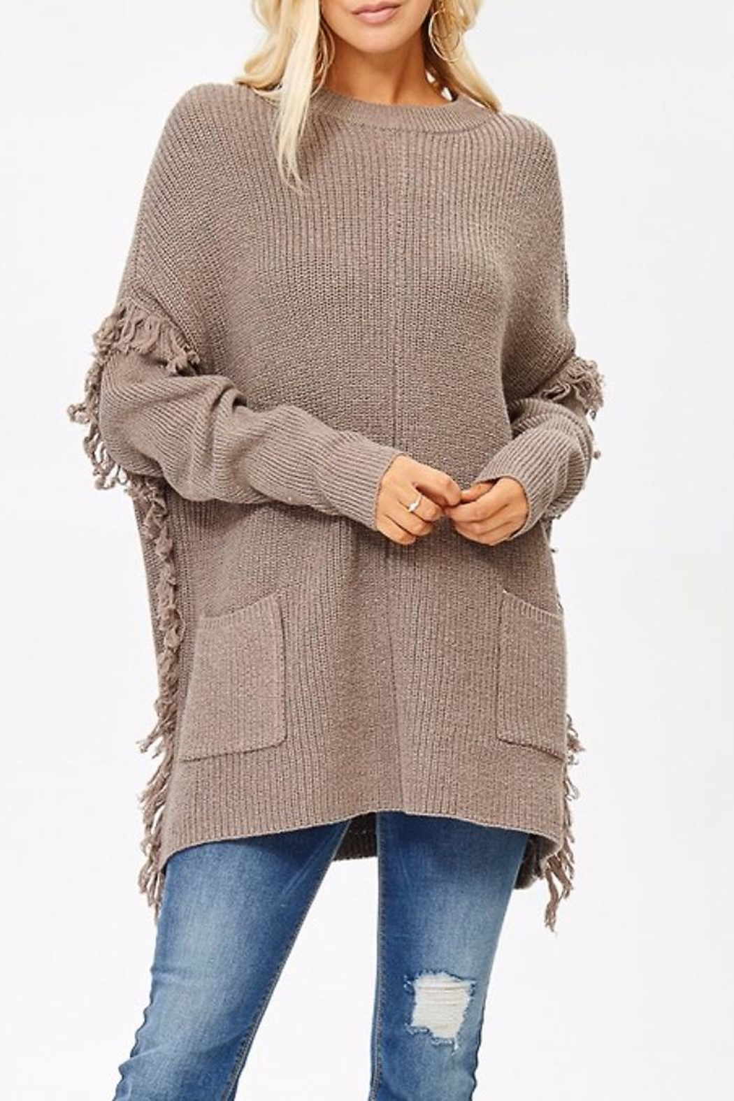 People Outfitter Ella's Long Sweater - Main Image