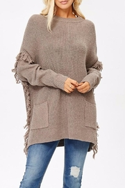 People Outfitter Ella's Long Sweater - Product Mini Image