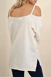 People Outfitter Eternity Cold Shoulder Top - Front full body
